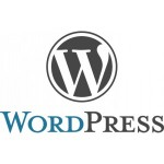 logotipo de wordpress para curso de wordpress online multimedia